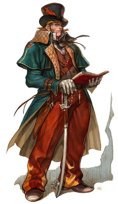 Steam punk fire mage                                                                               More