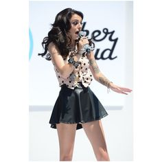 Cher Lloyd in Teen Vogue Back-To-School Event With Shay Mitchell ❤ liked on Polyvore