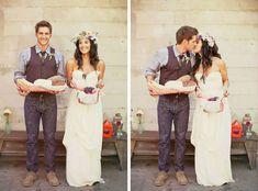 bohemian-wedding-0011 flower crown and dress