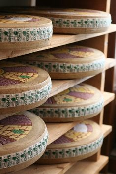 Comté (also called Gruyère de Comté) is a French cheese made from unpasteurized cow's milk in the Franche-Comté region of eastern France