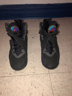 9d2ad5df6bf07f Nike Air Jordan VIII 8 Retro Aqua Black Men s Size 9.5 305381 025 New  Deadstock  fashion  clothing  shoes  accessories  mensshoes  athleticshoes  (ebay link)
