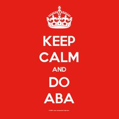 I Love ABA!: Is This ABA?