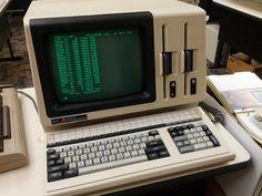 "NEC APC CP/M and DOS machine.  Ran DOS 2.2 off 8"" floppies."