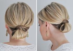 10 Updo Ideas for Girls With Short Hair | Brit + Co