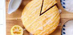 Lemon yogurt syrup cake   OverSixty