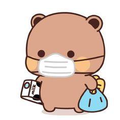 Cute Cartoon Pictures, Cute Love Pictures, Cute Love Cartoons, Gif Kawaii, Kawaii Cute, Chibi Cat, Cute Chibi, Cute Bear Drawings, Kawaii Drawings