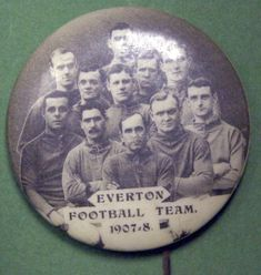 #Everton FC 1907/8 rare football badge #EFC #Liverpool
