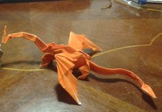 Hello everyone, this is my first video. I want to share some small changes that I created about origami dragon. I hope you like it. Thanks for watching. (Mus...