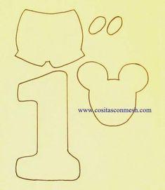 Cómo hacer un centro de mesa de mickey mouse en foami                                                                                                                                                      Más