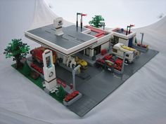 Octan Gas Station by Outer Rim Emperor, via Flickr