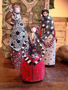 Paper Mache Doll by Poudre Rose www.facebook.com/PoudreRoseCreations