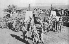 South Africans in Hobok Fort after its capture, 1941 https://en.wikipedia.org/wiki/1st_Infantry_Division_(South_Africa)