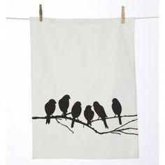 Geschirrtuch Lovebirds