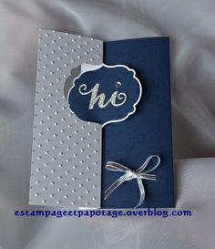 Une carte qui cache à l'intérieur une petite pochette pour y glisser un billet par exemple.