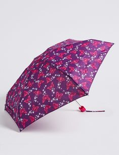 Women/&Mens Folding Umbrellas With Under Construction Printed Travel Umbrella