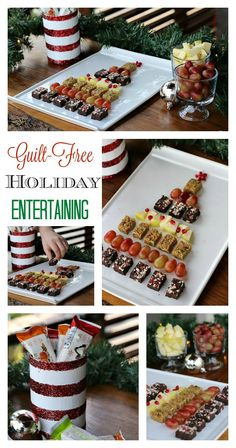These guilt free holiday entertaining ideas are sure to keep your guests on track while providing a snack that's delicious! #ZonePerfect #ad