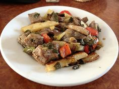 """The subject of today's """"Mallorca Gastronomy"""" post: Frito Mallorquin by In My Shoes Travel, via Flickr"""