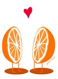 Mi media naranja...