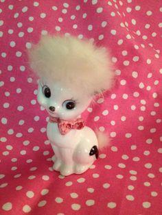 Fuzzy Cat Figurine