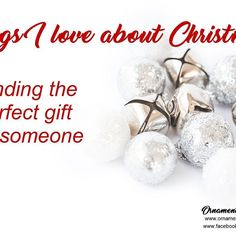 Things I love about Christmas... finding the perfect gift for someone. #christmas #handcrafted  #OrnamentsByRebecca