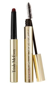 Free shipping and returns on Trish McEvoy 'Instant Glamour' Eye Duo (Limited Edition) ($64 Value) at Nordstrom.com. Get the season's most glamorous, coveted eye look in a flash with a limited-edition duo by Trish McEvoy, featuring two of the brand's most beloved products.<br><br>Duo includes:<br>- 24-Hour Eyeshadow and Liner in Glamorous (0.05 oz.)<br>- Dramatic Lash Mascara (0.18 oz.)