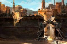 Desert Gate by Nurkhular