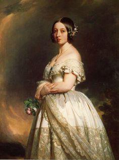 Queen Victoria :: Franz Xavier Winterhalter 1842