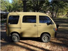 """Up for sale is a 1995 Daihatsu hijet van. This van will carry 4 adults comfortable. Mini Bus, Mini Camper, Motorcycle Camping, Camping Gear, Motorhome, Suzuki Carry, Cool Campers, Cool Vans, Mini Trucks"