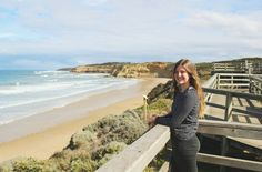 Myself at Jan Juc beach in Torquay which is Australia's oldest surfer town.  #janjuc #torquay #surfing #greatoceanroad  #canon100d #vscocam #australia #livingthedream by bettina_australia