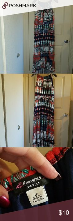 Cocomo petite Size Large petite with lining and flowy cocomo petite Dresses Maxi