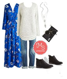 """Retro From the Get-go Jacket"" by modcloth ❤ liked on Polyvore featuring Madden Girl and Quay"