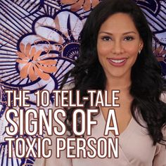 Do you have a toxic narcissist in your life?  Find out. #negativity #abusiverelationships