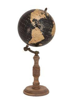 Wood Metal Globe Stand on @HauteLook