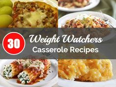 """Skinny Points Recipes » 30 Great weight watcher """"casserole recipes"""" YOU Should Try!"""
