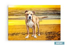 Custom Pet Art by Petsy Custom Dog Portraits, Pet Portraits, Gifts For Pet Lovers, Pet Gifts, Pets, Canvas, Artwork, Animals, Painting
