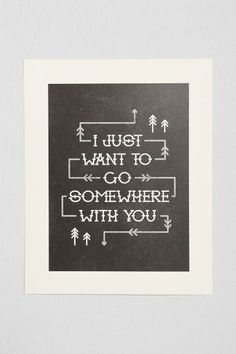 Alisa Bobzien Somewhere With You Art Print #urbanoutfitters