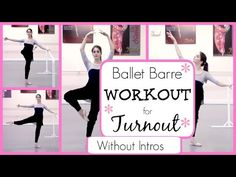 Barre Workout for Turnout Without Intros | Kathryn Morgan - YouTube
