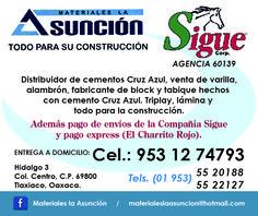 Materiales para Construcción en Tlaxiaco.