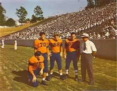 Clemson Tigers in the old days.