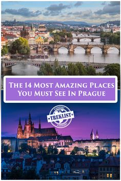 These are the top places that you must visit if you are ever travelling to Prague, written by a local.