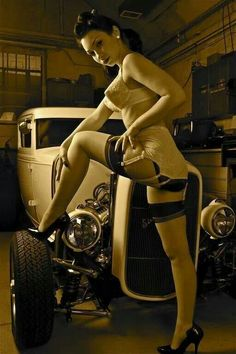 Pinups & Hot Rods