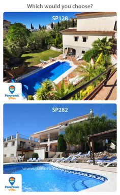 Mijas Golf and Mijas Pueblo are two of our most popular areas for villa rentals. Would you rather be relaxing by the golf course in SP128, or taking in the view form the Mijas mountains in SP282? Check out full details of both villas here: http://www.panoramicvillas.com/…/sp…/mijas-golf/villa-sp128/ http://www.panoramicvillas.com/vil…/spain/mijas/villa-sp282/ #MijasGolf #MijasPueblo