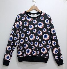 We offer FAST worldwide shipping for this item. Excellent knitwear!!   New Fall and winter 2013 sweater!! harajuku collection. Unisex fleece sweater with high quality printing. This product is made of imported high quality soft cotton blend and acrylic.  Style: Harajuku  High quality printin...