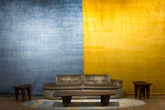 Colors of Summer! #josephcarinicarpets #carpetswithsoul #blue #yellow #colors #summer #summercolors #summerblue #summeryellow