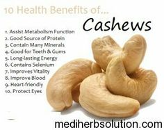 Diet Food Cashew Nuts have many amazing health benefits for human body.Consuming cashews can Improve Bone Health,Prevent Cancer,Prevent Gallstone,high Weight Loss Meals, Lemon Benefits, Coconut Health Benefits, Benefits Of Cashews, Fruit Benefits, Benefits Of Vegetables, Health And Nutrition, Health Tips, Health Fitness