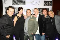 The Keune US Studio Team walking the red carpet before the Keune Evolution Show at the Hard Rock Live in Orlando Florida. #keune #hardrocklive #keuneevolution #amberskrzypek