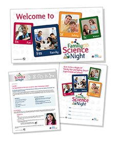 Family Science Night! Treat families to a night of inquiry, discovery and fun with our simple, hands-on Safety Smart® science experiments and activities! It's a great way to get families excited about science, encourage parent involvement and spark interest among students.