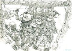 El Hurgador [Arte en la Red]: Manos a la obra (XXII) - Kim Jung Gi