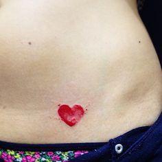 #ShareIG ❤️ Coração da Brenda • obrigado pela confiança #heart #coração #coracaotattoo #aquarela #tattoo #tatuagem #t4ttoois #inspirationtatto #tattoo2me #vejatattoo #tattooscute #watercolor #watercolortattoo #aquarelatattoo #tattooaquarela
