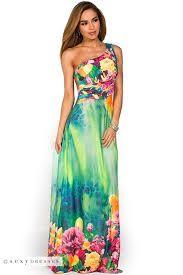Hawaiian Maxi Dress